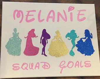 Custom Disney Princess Sign