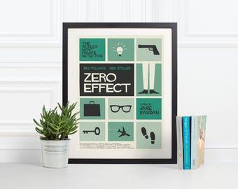 Cartel de la película alternativa de cero efecto
