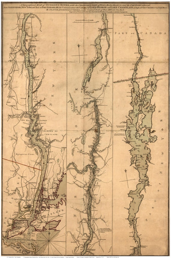 Il Xn B Hu on Lake George Topographic Map