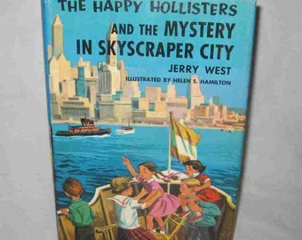 The Happy Hollisters #17 Mystery In Skyscraper City Jerry West