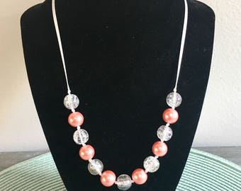 Paradise Peach Necklace