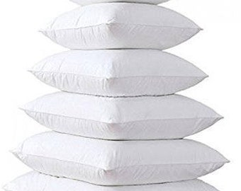 Pillow Inserts - Outdoor Pillow Inserts - Indoor Pillow Inserts - Poly Filled Inserts - Multiple Sizes Available