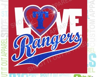 Texas Rangers baseball tees tanks.glitter.baseball glitter tanks.Texas baseball tanks.D