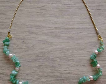Adjustable rhinestone necklace