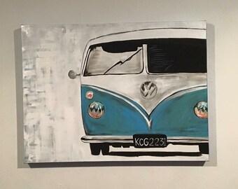 Custom VW Canvas Art