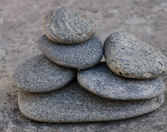 Zen Balance Sculpture - Stress Relief Gift for Him - Rock Cairn - Meditation Stone Stack - Mindfulness