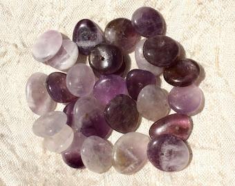 10pc - stone beads - Amethyst Chips 10-15mm 4558550006615 pucks