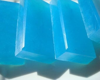 Blueberry Soap - Blue Soap - Homemade Soap - Bar Soap - 1/4 lb Soap - One Quarter Pound Soap