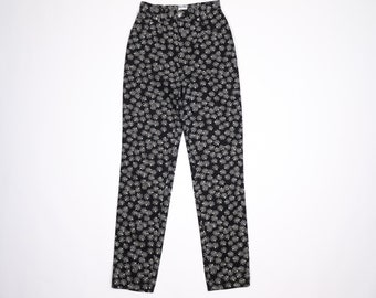 MOSCHINO - Floral trousers