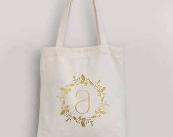 Personalized tote bag,customize tote bag,canvas tote bag,monogram tote bag,birthday gift,personalized gift,gift for her,bridesmaid gift