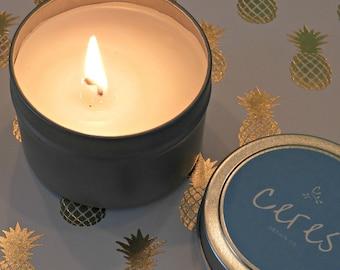 Organic Coconut Wax Candle