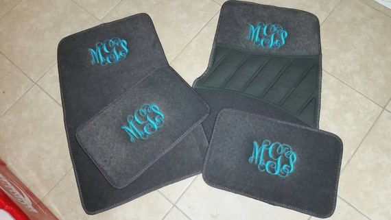 Personalized Car Mats Custom Mat Monogram New Cute Floor M
