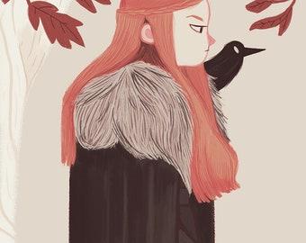Snow Queen - Print