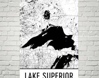 Lake Superior, Great Lakes, Lake Superior Minnesota, Great Lake Art, Lake Superior Map, Lake Superior Art, Lake Map, Cottage, Lake House