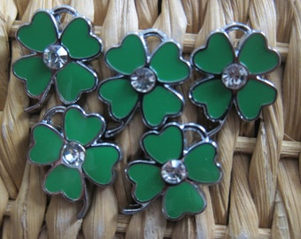 Shamrock Charm, Pack of 5