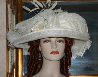 Downton Abbey Hat