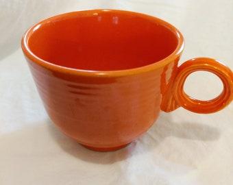 Fiesta Red Teacup - Vintage