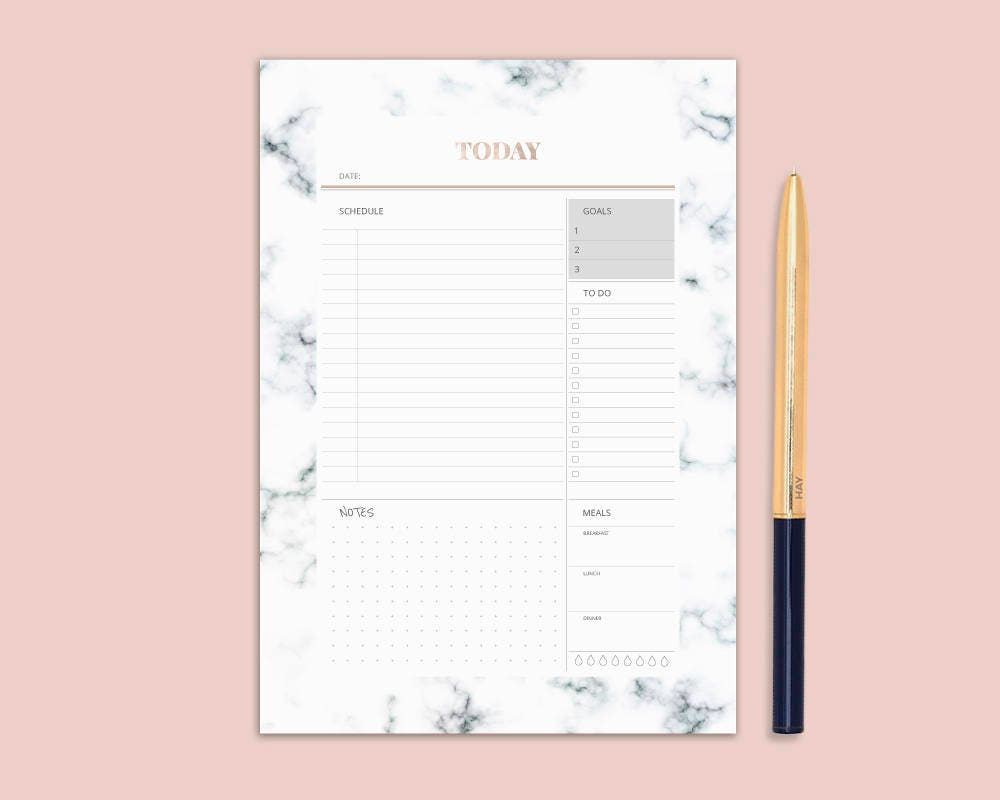 Influential image for cute planner refills