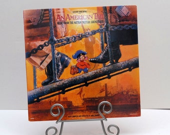 An American Tail Soundtrack Record Album by Steven Spielberg