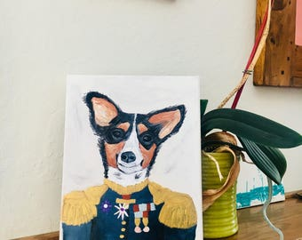 I will paint/draw a picture of your pet for you. Example