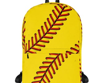 Fast Pitch Softball Super Fan Backpack