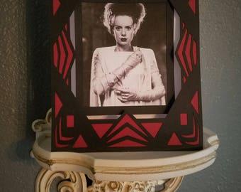 Bride Of Frankenstein Handmade Card