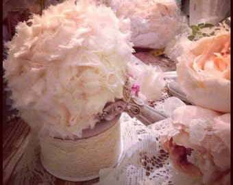 SALE!!! Shabby chic bridal bouquet SALE