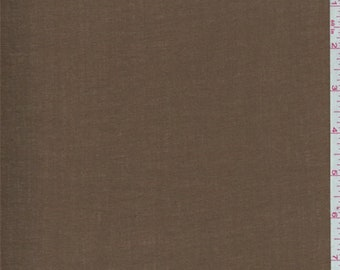 Tuscan Brown Cotton Lawn, Fabric By The Yard