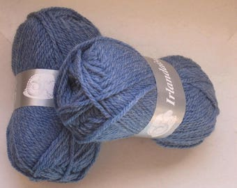5 balls wool Irish color 13 lot 561 Textiles brand jeans
