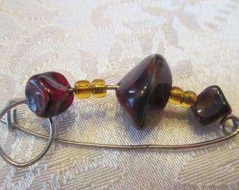 Brooch, Vintge jewelry, Women's Accessories, Woman's jewelry, Ladies'accessories, Gift for her, Vintage style