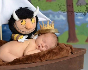 Where the Wild Things Are crown, wild thing king, wild things crown,