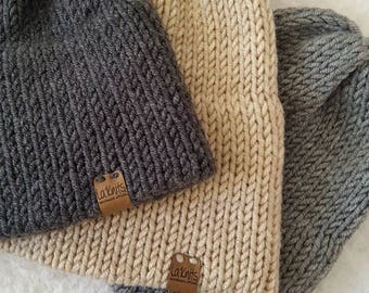 Double Brim Beanie for Men