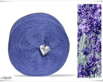 Solid Yarn Merino Lavender 500m