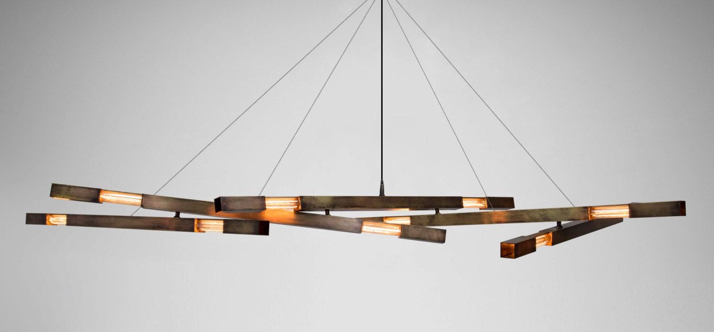 Modern chandelier minimalist chandelier brass chandelier zoom mozeypictures Image collections
