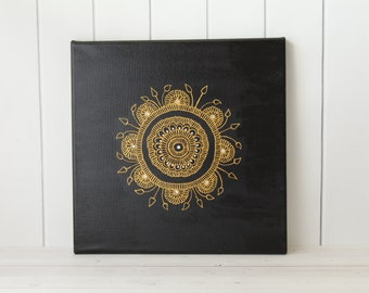 Mandala Painting - Mandala Wall Art - Mandala Decor - Unique Gift - Mandala Home Decor