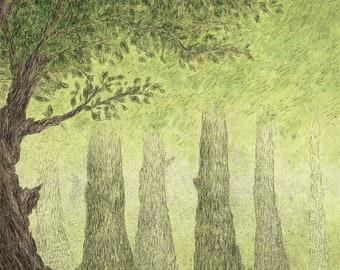 Tree in Forest (Digital File)