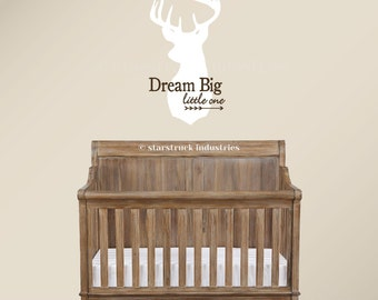"Dream Big Little One Decal 40"" Dream Big Little One Wall Decal 