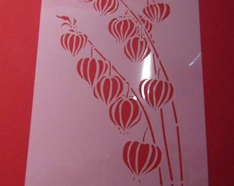 lightweight plastic stencil 12 cm * 23 cm