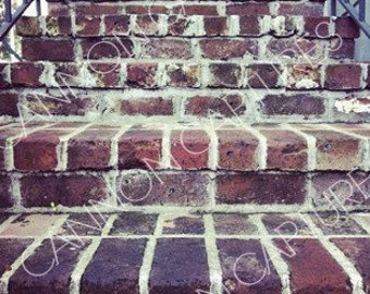Brick Stairway
