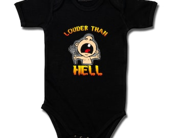 baby bodysuit louder than bright