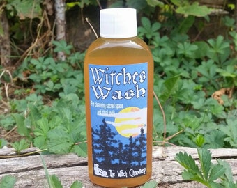 Witches Wash for ritual tool cleansing, ritual space washing,  purification rituals, exorcising rituals and other sacred cleansing rituals.