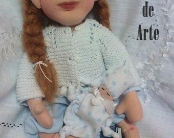 Erin Waldorf Inspired Doll