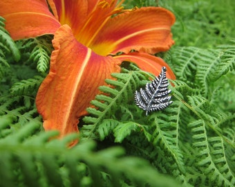 Fern Lapel Pin - CC496- Plant and Garden Gifts, Pins for Gardeners