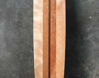 "Calkins Brand Skateboards -Old School longboard 40"" - Hardwood- handmade"