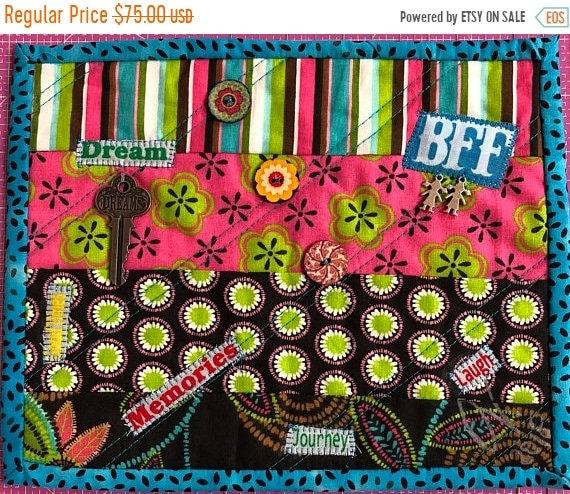 Hello Summer Sale Friendship #3 8x10 inch mini quilt