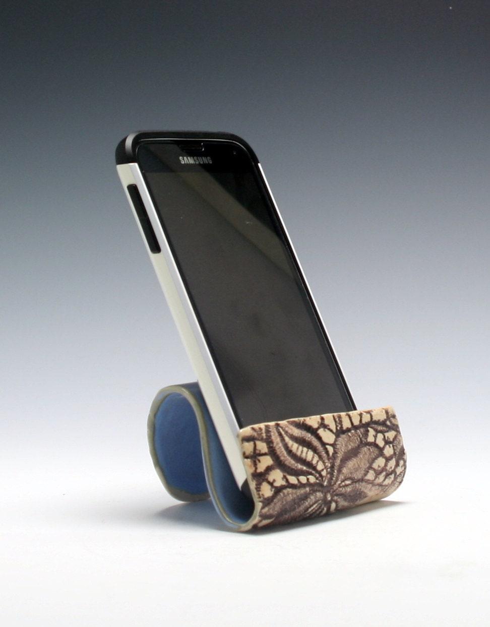 Ceramic cell phone holder business card holder sponge