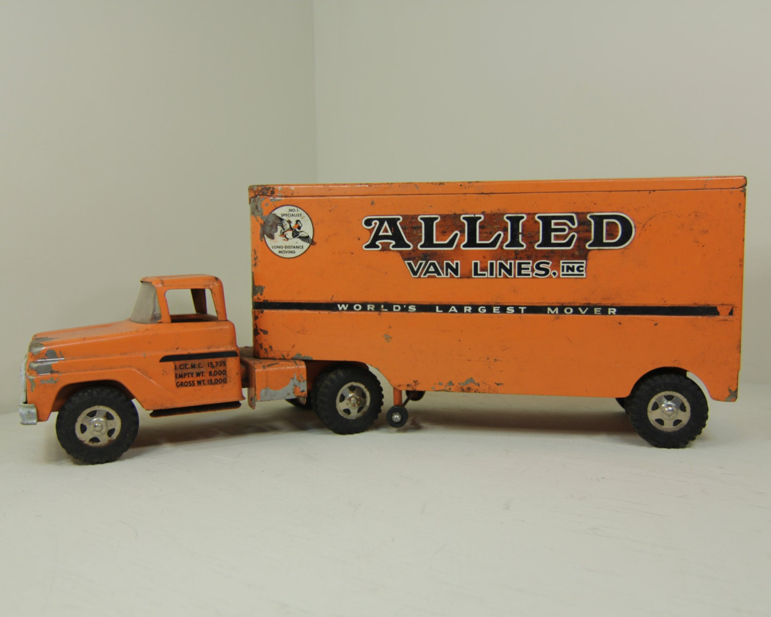 Toy Tractor Trailer Trucks : Metal toy tractor trailer trucks wow