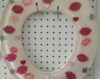 Kiss My A... Toilet Seat and Lid