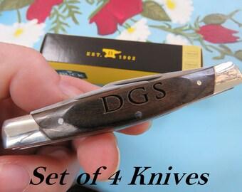 Groomsmen Gift, Pocket Knife, Hunting Knife, Gift for Men, Camping Knife, Groomsman Knife, Engraved Knives, Unique Best Stocking Stuffer