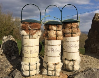 Alpaca Bird Nesting/feeders